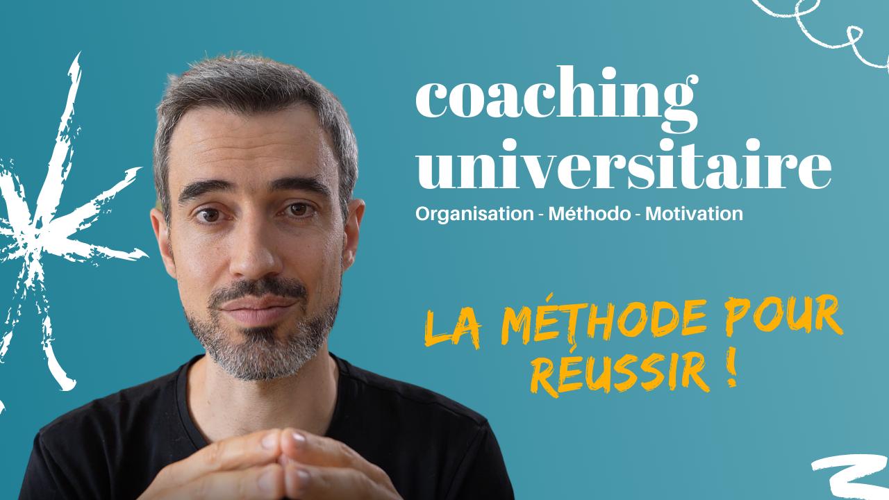 Présentation du coaching universitaire en ligne